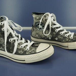 Converse Shoes - Chuck Conners All Star High Top Sneakers Paisley